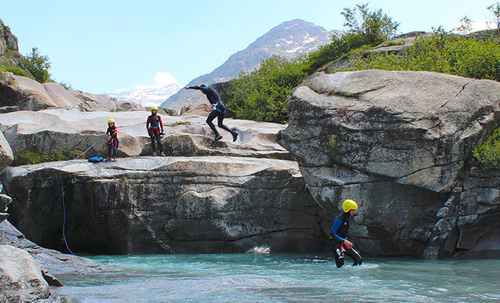 canyoning bessans
